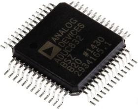 Фото 1/2 ADUC832BSZ, Микроконвертер, 12-Bit ADCs and DACs, 8-bit ADuC8xx 8052 CISC 62KB Flash 3.3V/5V [MQFP-52]