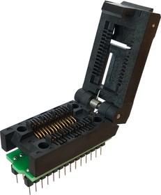 Фото 1/2 DIP-SOIC 16/18/20/24/28 pin 300 mil, Адаптер для программирования микросхем (=AE-SC18/28U, TSU-D28/SO28-300)