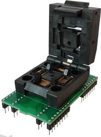 Фото 1/3 DIP64-TQFP64 12x12 mm 0.5 mm pitch, Адаптер для программирования микросхем (=HTQ6405)