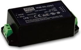 Фото 1/2 IRM-60-12ST, AC/DC преобразователь, 12В,5А,60Вт