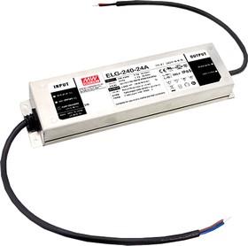Фото 1/2 ELG-240-48A, AC/DC LED, 48В,5А,240Вт,IP65 блок питания для светодиодного освещения