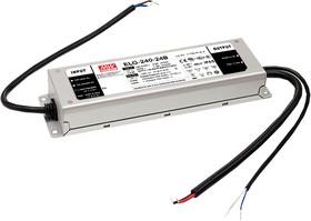ELG-240-24B, AC/DC LED, 24В,10А,240Вт,IP67 блок питания для светодиодного освещения