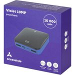 Violet 10MP, Аккумулятор Accesstyle Внешний аккумулятор Accesstyle Violet 10MP