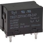 TRG7-220VAC-FB-2AP-R (TRG7-1-220VAC-FB-2AP-R), Реле 2зам. 220 / 25A250VAC (OBSOLETE)