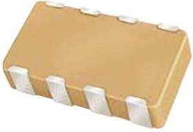 W3A45C332KAT2A, Cap Ceramic Array 0.0033uF 50V X7R 10% 0612 Pad SMD 4 Capacitor 125°C T/R