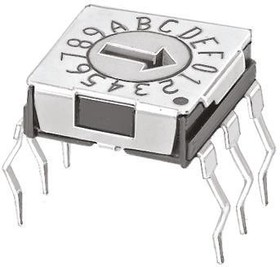 DRS13016, Rotary switch hex,micro-m