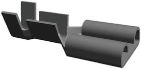 Фото 1/2 160917-2, Клеммы быстрого отключения, FASTON 250 Series, Гнездовой Быстрого Соединения, 6.35мм x 0.81мм