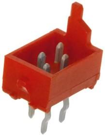 215464-4, Conn M 4 POS 1.27mm Solder ST Thru-Hole Automotive Reel