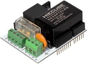 Фото 1/4 Arduino AC/DC Shield, Электромеханическое реле и импульсный преобразователь питания для Arduino проектов