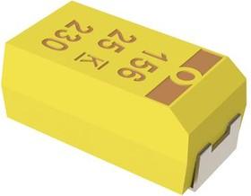 Фото 1/2 T494A334K035AT, Surface Mount Tantalum Capacitor, 0.33 мкФ, 35 В, 1206 [3216 Метрический], T494 Series, ± 10%