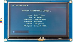 NX4827T043 Nextion Basic