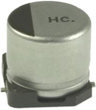 EEEHC0J221XP, Cap Aluminum Lytic 220uF 6.3V 20% (6.3 X 7.7mm) SMD 101mA 3000h 105C Automotive T/R