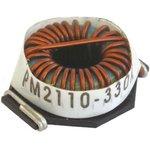 Фото 2/3 PM2110-101K-RC, Тороидальный индуктор, сильноточный, Серия PM2110, 100 мкГн, 5.4 А, 0.032 Ом, ± 10%