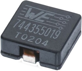 7443552100, INDUCTOR SMD HIGH CURRENT WE-HCI 1.0UH