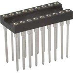 TRSL-18 (DS1007-18N), DIP панель 18-контактная цанговая узкая
