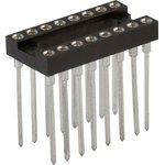 TRSL-16 (DS1007-16N), DIP панель 16-контактная цанговая узкая
