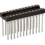 TRSL-24 (DS1007-24W), DIP панель 24-контактная цанговая широкая