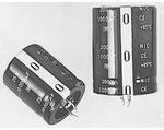 NRLM103M25V22X35F, Cap Aluminum Lytic 10000uF 25V 20% (22 X 35mm) Snap-In 10mm 0.058 Ohm 3780mA 2000h 85°C Bulk