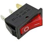 IRS-101-1C3 (красный), Переключатель с подсветкой ON-OFF ...