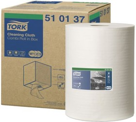 510137, TORK CLEANING CLOTH WHITE 1X152