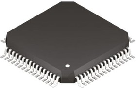 Фото 1/2 dsPIC33EP128GP506-I/PT, 16bit dsPIC Microcontroller, 70MHz, 128 kB Flash, 64-Pin TQFP
