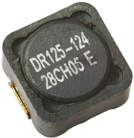 DR125-221-R, Inductor shielded 220uH 1