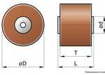 FD-36AU, Cap Ceramic Single 500pF 40000VAC Y5P 10% (48 X 35mm) 85°C Box