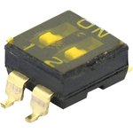 SBS1002 (ВДМ1-2) (SDMR-02-T), Переключатель DIP SMD ...