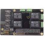 Фото 5/5 Raspberry Pi Relay Board v1.0, Плата расширения для Raspberry Pi, плата с 4-мя реле