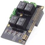 Фото 4/5 Raspberry Pi Relay Board v1.0, Плата расширения для Raspberry Pi, плата с 4-мя реле