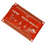Фото 2/2 PIC32-HMZ144, Отладочная плата на МК PIC32MZ2048ECG (200МГц , 2MB Flash и 512KB SRAM)