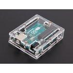 Фото 3/5 Arduino UNO R3 Acrylic Enclosure - Clear, Корпус для Arduino Uno (прозрачный)