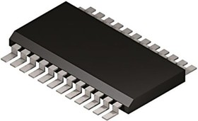 Фото 1/2 AD5334BRUZ, DAC 4-CH Resistor-String 8-bit 24-Pin TSSOP Tube