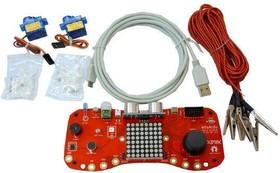 Фото 1/3 eduArdu-QS-NOBAT, Обазовательный комплект для изучения программирования в среде Arduino и Snap4Arduino