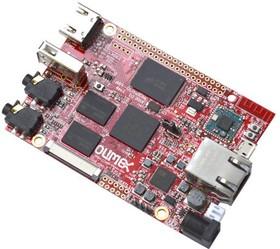 Фото 1/2 A64-OLinuXino-1Gs16M, Одноплатный компьютер на базе процессора Allwinner A64 (1.2ГГц, 4 ядра ARM Cortex-A53, 64-бит)