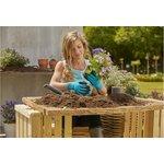 Фото 3/5 Перчатки садовые для работы с почвой, размер XL 11513-20.000.00