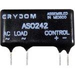 ASO242, Реле 4-10VDC, 2.0А/280VAC