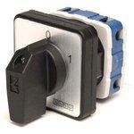 PSA016AK231S, Переключатель кулачковый на панель двухполюсный 16А 400VAC тип 1-2