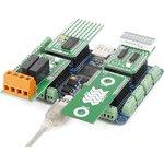 Фото 4/5 MIKROE-1793, Quail Board, Отладочная плата на базе STM32F427, плата объединяет модули click и Microsoft.NET