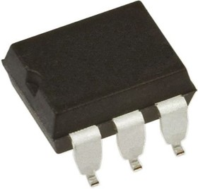 4N28SM, Optocoupler DC-IN 1-CH Transistor With Base DC-OUT 6-Pin PDIP SMD White Bag