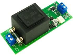 Фото 1/3 SPW0051-100mA-MOC, Источник питания 5В/100mА с оптосимисторным каналом, совместим с корпусом D2MG