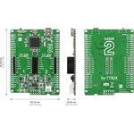 Фото 2/3 MIKROE-1724, clicker 2 for FT90x, Отладочная плата на базе FT900