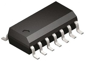 UC3843BVDG, Current Mode PWM Controller 1A 500kHz 14-Pin SOIC N Tube