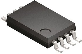 Фото 1/2 M93C76-RDW3TP/K, Микросхема памяти, EEPROM Serial-Microwire 8K-bit 1K x 8/512 x 16 2.5V/3.3V/5V Automotive [TSSOP-8]