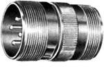 Фото 1/2 756862214P, Conn Cylindrical Circular PIN 19 POS Crimp ST Cable Mount 19 Terminal 1 Port