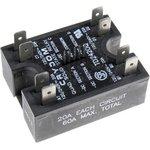 TD2420Q, Реле 4-15VDC, 20A/240VAC