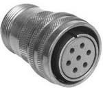 97-3107A20-4P, Conn Circular PIN 4 POS Solder ST Cable Mount 4 Terminal 1 Port Automotive Medical