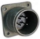 CA3102E28-21P-B-F80, Conn Circular PIN 37 POS Crimp ST Box Mount 37 Terminal 1 Port Automotive