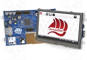 """ARMADILLO-43T, Дисплей TFT, 4,3"""", 480x272, Размер окна 95x53,9мм, 480кд/м2"""