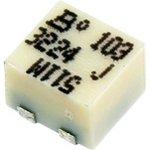 3224J-1-103E, 10 кОм, 11 оборотов, Резистор подстроечный